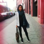 Outfit mit den YSL Sneakers