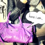 Balenciaga Part Time Ultraviolet