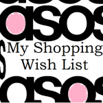 Shopping Wish List