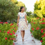 Bodrum: Garden Flower Dress