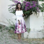 Bodrum: Flower Midi Skirt