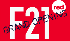 Berlin: Grand Opening F21 RED